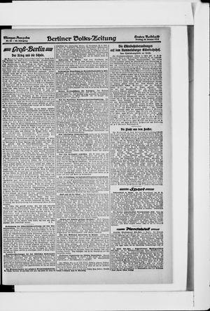 Berliner Volkszeitung vom 25.01.1918