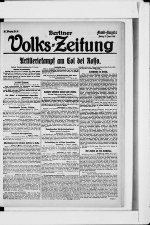 Berliner Volkszeitung on Jan 28, 1918