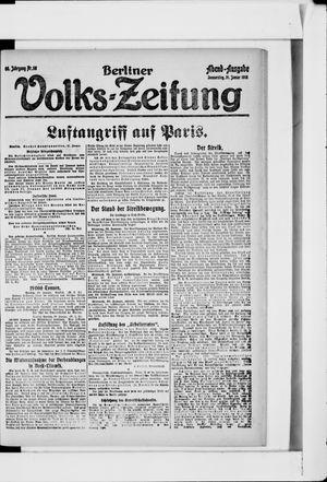 Berliner Volkszeitung vom 31.01.1918