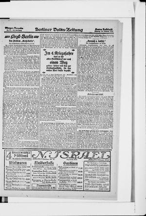 Berliner Volkszeitung vom 10.02.1918