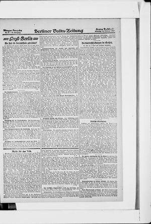 Berliner Volkszeitung vom 12.02.1918