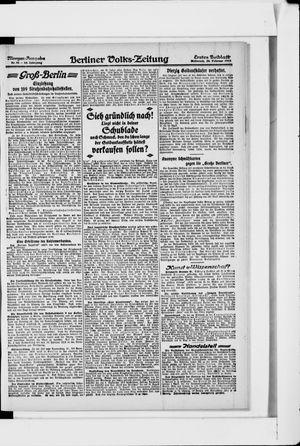Berliner Volkszeitung vom 20.02.1918