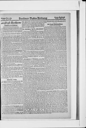 Berliner Volkszeitung vom 01.03.1918