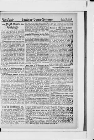 Berliner Volkszeitung vom 03.03.1918