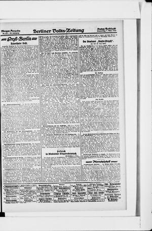 Berliner Volkszeitung vom 07.03.1918