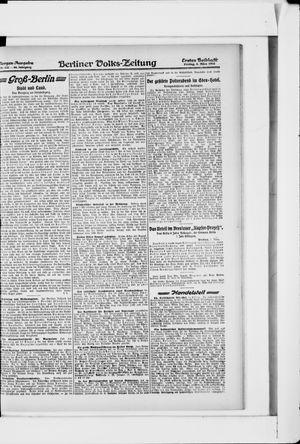Berliner Volkszeitung vom 08.03.1918