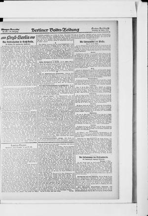 Berliner Volkszeitung vom 10.03.1918