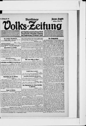 Berliner Volkszeitung vom 12.03.1918