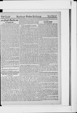 Berliner Volkszeitung vom 15.03.1918