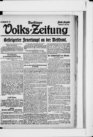 Berliner Volkszeitung vom 16.03.1918