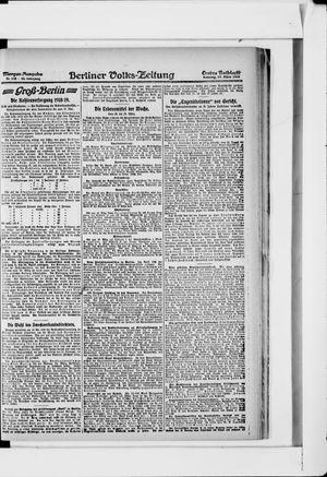 Berliner Volkszeitung vom 17.03.1918