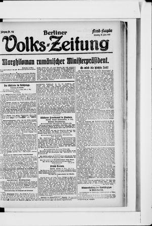 Berliner Volkszeitung vom 19.03.1918