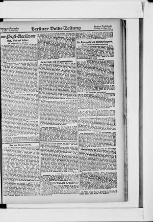 Berliner Volkszeitung vom 22.03.1918