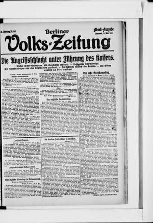 Berliner Volkszeitung vom 23.03.1918