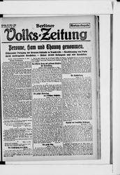 Berliner Volkszeitung (25.03.1918)