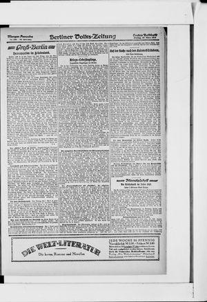 Berliner Volkszeitung vom 29.03.1918