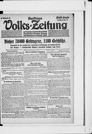 Berliner Volkszeitung vom 30.03.1918