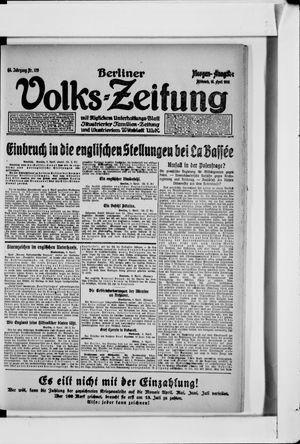 Berliner Volkszeitung vom 10.04.1918