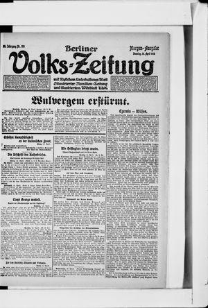 Berliner Volkszeitung vom 16.04.1918