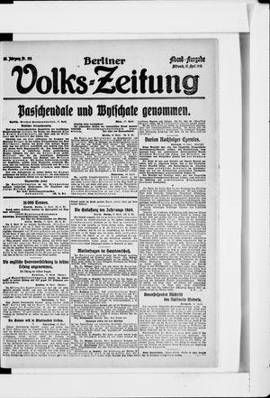 Berliner Volkszeitung on Apr 17, 1918