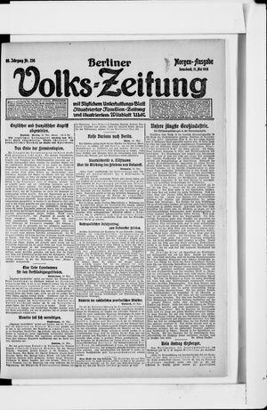 Berliner Volkszeitung vom 11.05.1918