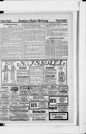 Berliner Volkszeitung vom 12.05.1918