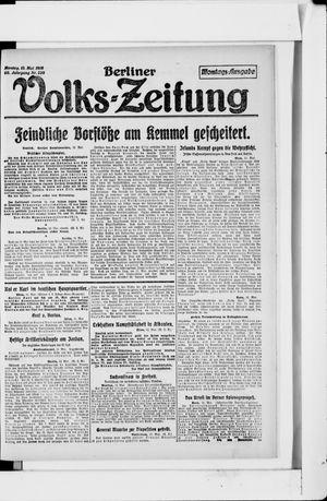 Berliner Volkszeitung vom 13.05.1918