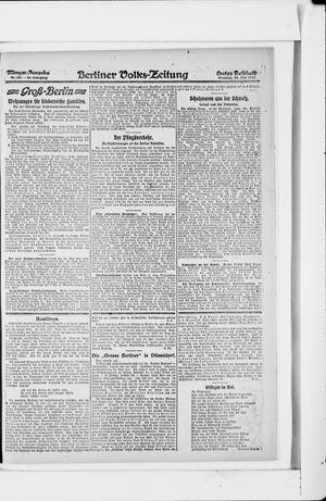 Berliner Volkszeitung vom 14.05.1918