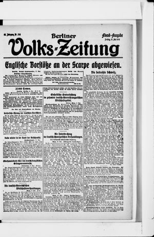 Berliner Volkszeitung vom 17.05.1918