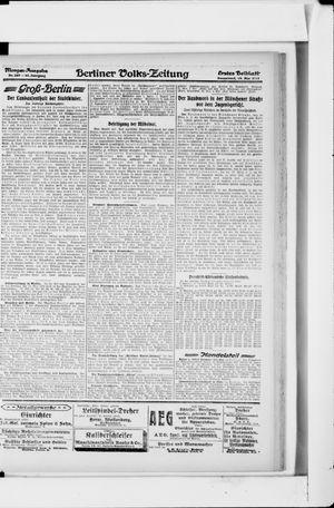 Berliner Volkszeitung vom 18.05.1918