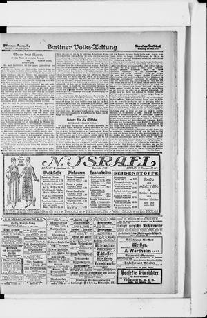 Berliner Volkszeitung vom 19.05.1918