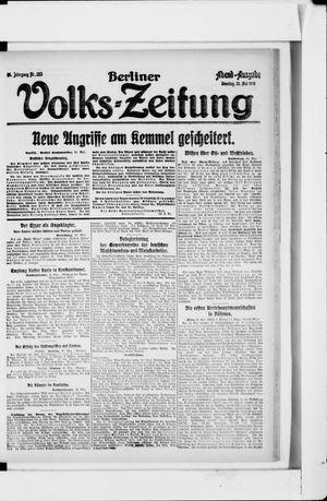 Berliner Volkszeitung vom 21.05.1918