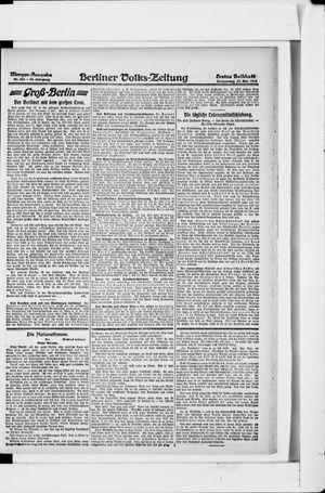 Berliner Volkszeitung vom 23.05.1918