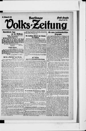 Berliner Volkszeitung on May 24, 1918