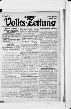 Berliner Volkszeitung vom 25.05.1918