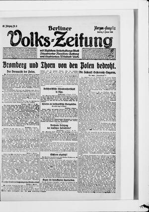 Berliner Volkszeitung vom 05.01.1919
