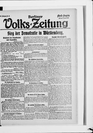 Berliner Volkszeitung vom 13.01.1919