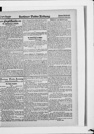 Berliner Volkszeitung vom 15.01.1919
