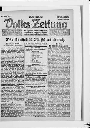 Berliner Volkszeitung vom 16.01.1919