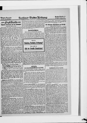 Berliner Volkszeitung vom 17.01.1919