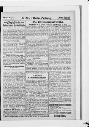 Berliner Volkszeitung vom 23.01.1919
