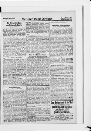 Berliner Volkszeitung vom 28.01.1919