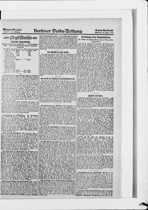 Berliner Volkszeitung vom 29.01.1919
