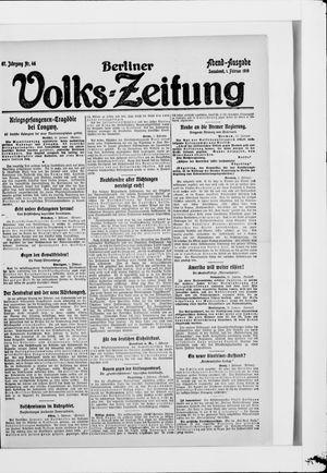 Berliner Volkszeitung vom 01.02.1919