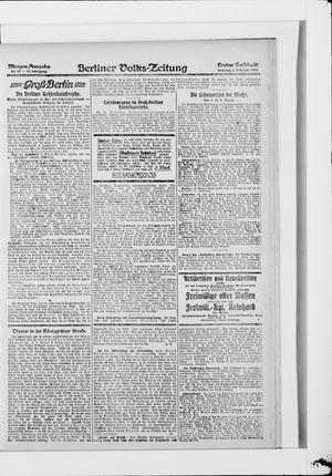 Berliner Volkszeitung vom 02.02.1919