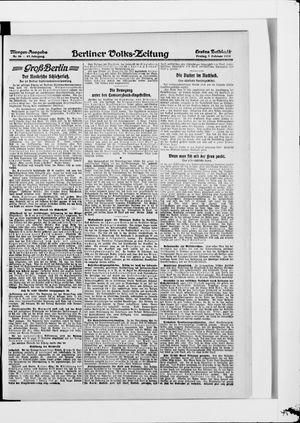 Berliner Volkszeitung vom 07.02.1919