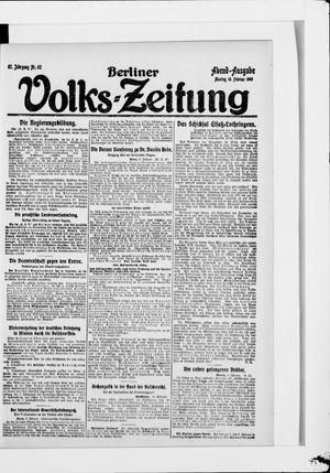 Berliner Volkszeitung vom 10.02.1919