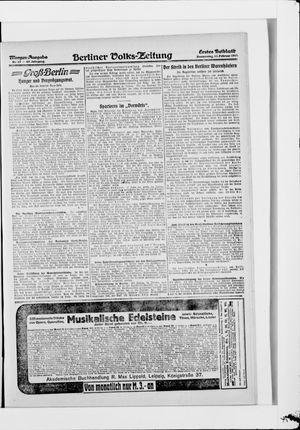 Berliner Volkszeitung vom 13.02.1919
