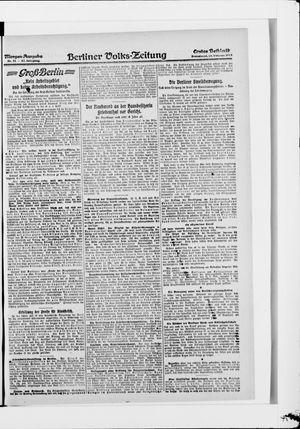 Berliner Volkszeitung vom 15.02.1919