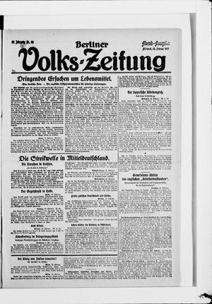 Berliner Volkszeitung vom 26.02.1919
